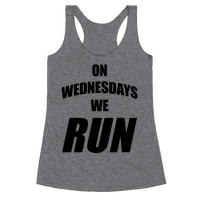 On Wednesdays We Run