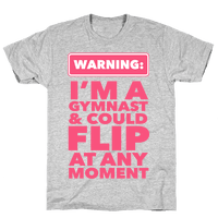 Gymnast Can Flip at any Moment