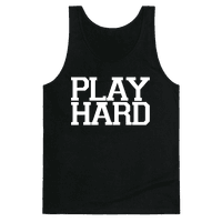 PLAY HARD (white font)