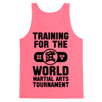 Training for the World Martial Arts Tournament