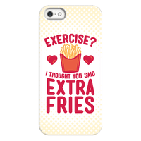 Exercise? I Thought You Said Extra Fries Phonecase