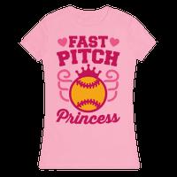 Fast Pitch Princess Tee