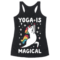 Yoga Is Magical Racerback