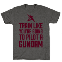 Train Like You're Going To Pilot A Gundam