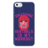 Smashing Sentinels Is My Workout