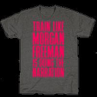 Train Like Morgan Freeman Is Doing The Narration