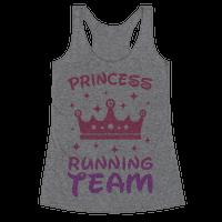 Princess Running Team Racerback