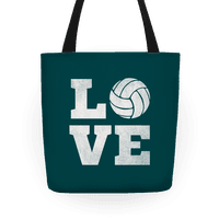 Love Volleyball Tote