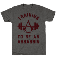 Training To Be An Assassin Tee