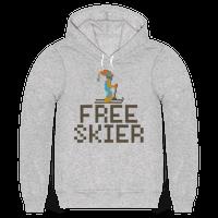 Free Skier Forever Hoodie