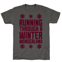 Running Through A Winter Wonderland