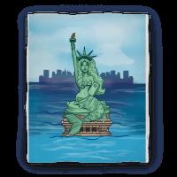 Statue of Liberty Mermaid (Blanket)