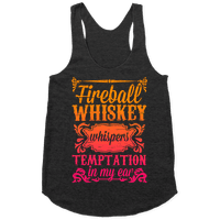 Whiskey Whispers Temptation In My Ear Racerback