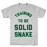 Training To Be Solid Snake