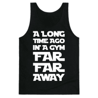 A Long Time Ago In A Gym Far Far Away