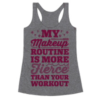 My Makeup Routine Is More Fierce Than Your Workout