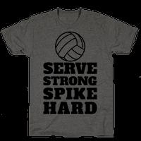 Serve Strong Spike Hard