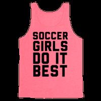 Soccer Girls Tank