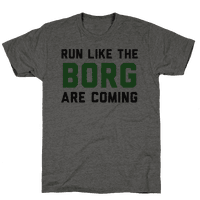 Run Like The Borg Are Coming
