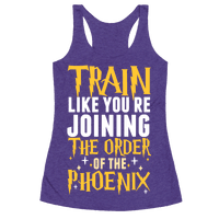 Train Like You're Joining The Order Racerback