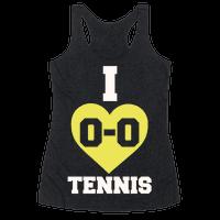 I 0-0 Tennis Racerback