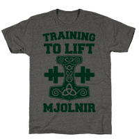Training to Lift Mjolnir