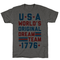 USA World's Original Dream Team 1776 (Patriotic T-Shirt)