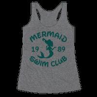 Mermaid Swim Club Racerback