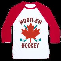 Hoor-Eh Hockey Baseball