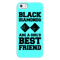 Black Diamonds Are A Girl's Best Friend Phonecase
