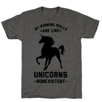 My Running Skills Are Like Unicorns Nonexistent