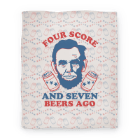 Four Score and Seven Beers Ago (Blanket)