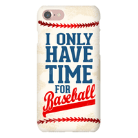 I Only Have Time For Baseball