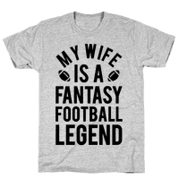 My Wife is a Fantasy Football Legend