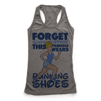 Forget Glass Slippers This Princess Wears Running Shoes Racerback