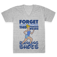 Forget Glass Slippers This Princess Wears Running Shoes Vneck