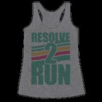 Resolve 2 Run Racerback