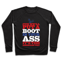 It's The American Way Pullover