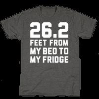 Bed To Fridge