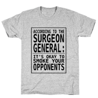 According to the Surgeon General:..
