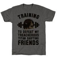 Training to Defeat My Treacherous Titan shifting Friends
