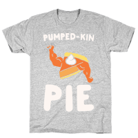 Pumped-kin Pie White Print