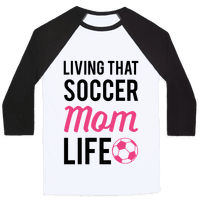 Living That Soccer Mom Life Baseball