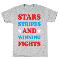 Stars Stripes And Winning Fights