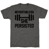 Nevertheless She Persisted (Fitness)