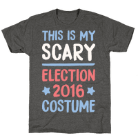 This Is My Scary Election 2016 Costume Tee