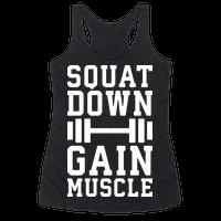 Squat Down Gain Muscle