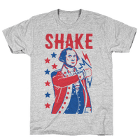 Shake & Bake: George Washington Tee