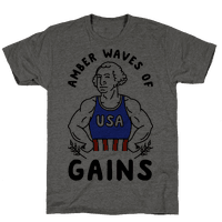 Amber Waves Of Gains Tee