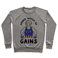 Amber Waves Of Gains Pullover